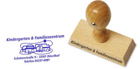 Stempel Kindergarten Schatenstraße