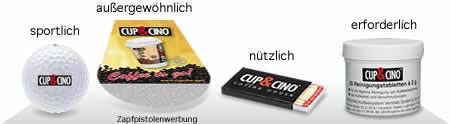 Werbemittel CUP&CINO