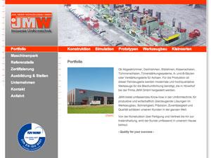 Internetauftritt Joh. Meier Werkzeugbau in Hövelhof