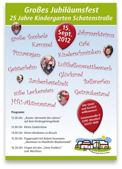 Plakat Schatenstraße