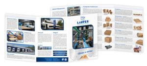 Broschüre Laufer Verpackungen