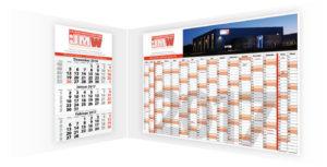 3-Monate-Kalender und Jahresplaner