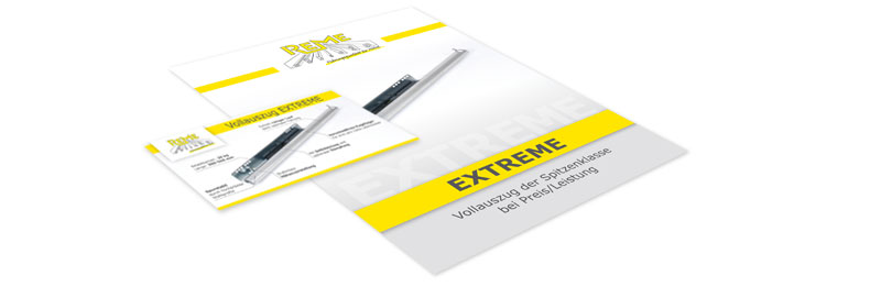Einladung und Broschüre REME