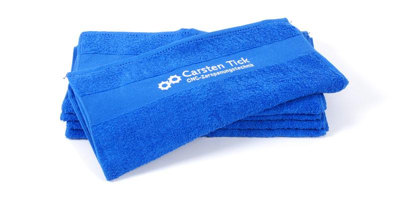 Handtuch mit Stick-Logo