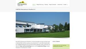 Homepage Caritas Altenzentrum Hövelhof