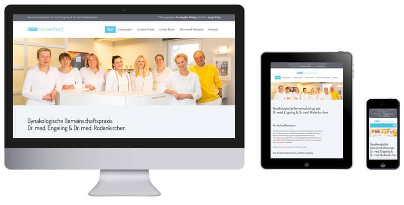 Homepage Frauenarzt Hövelhof