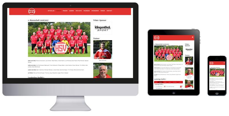 Homepage des Hövelhofer SV