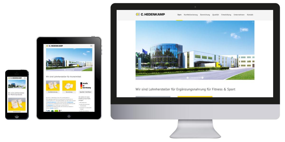 Homepage Hedenkamp Hövelhof
