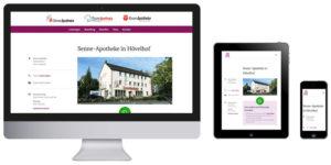 Homepage Senne-Apotheke, Thune-Apotheke und Rosen-Apotheke