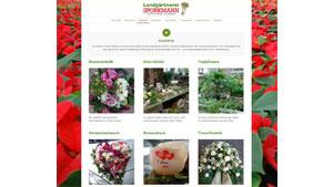 Homepage Gärtnerei Sporkmann