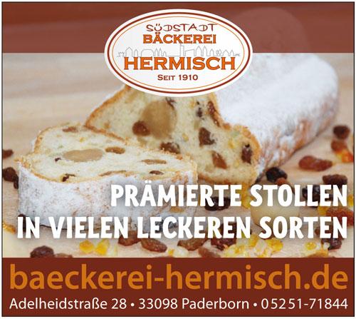 Inserat Bäckerei Hermisch in Paderborn