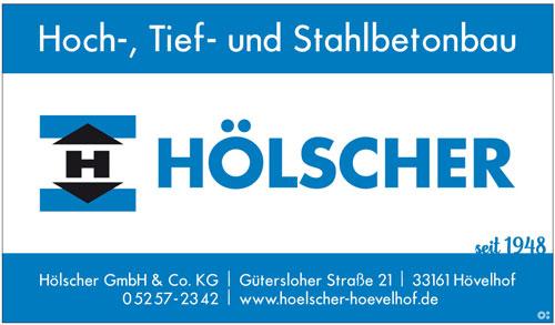 Inserat Hölscher Bauunternehmen in Hövelhof