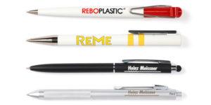 Kugelschreiber mit Logo bedrucken oder lasern