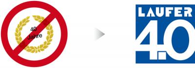 Logo für Firmenjubiläum