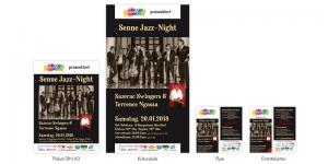 SenneKult Plakat, Flyer, Kultursäule, Eintrittskarten