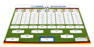 Spielplan für die Fußball-WM 2018 in Russland
