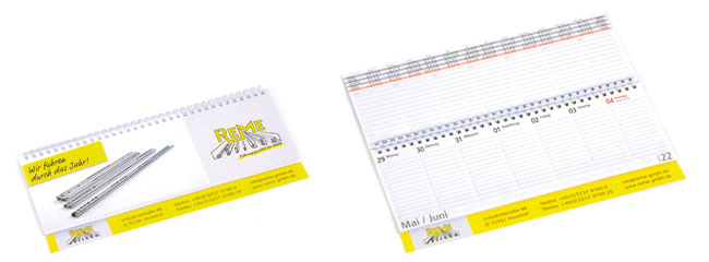 Tischplaner Tischkalender