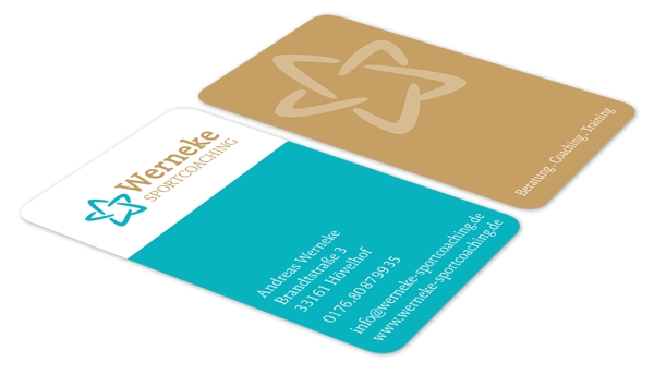 Logo & Visitenkarte Werneke Sportcoaching