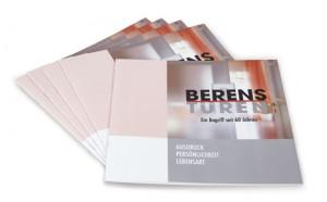 Broschüre Berens Türen