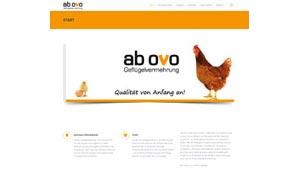 Homepage ab ovo Geflügelvermehrung GmbH
