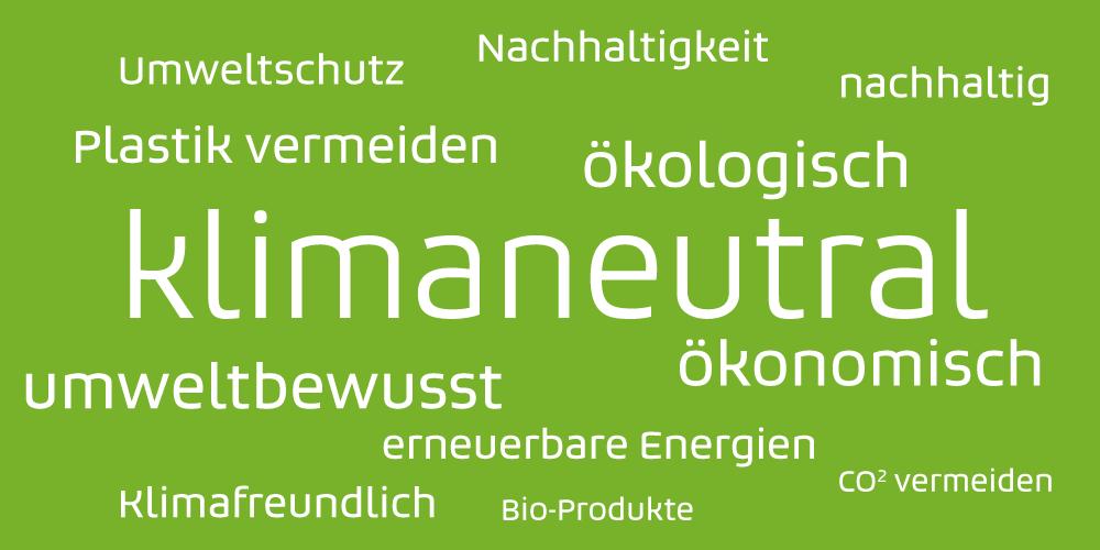 Klimanfreundliches Marketing