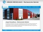 Homepage Jürgen Dresselhaus - Mechanischer Betrieb
