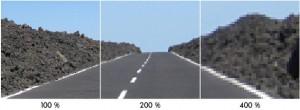 Pixelgrafik Zoom